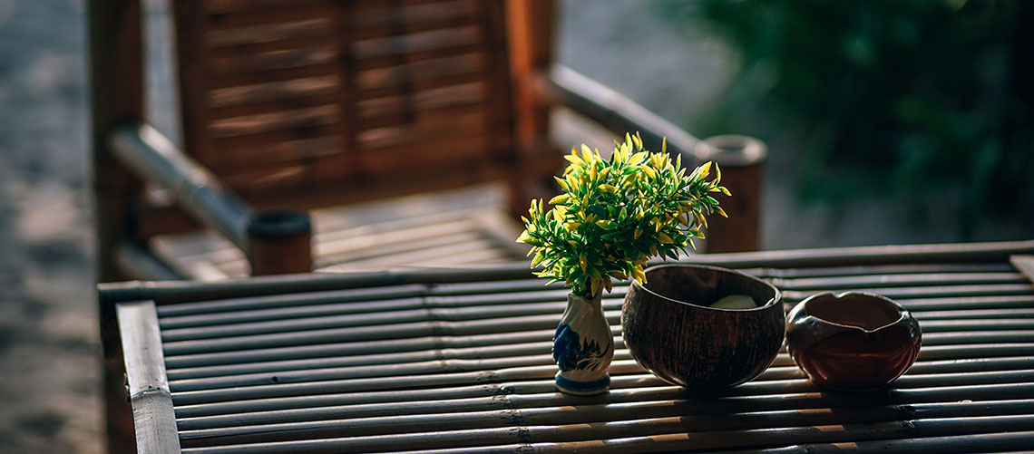 Du kan stadig nyde godt af din terrasse i efteråret
