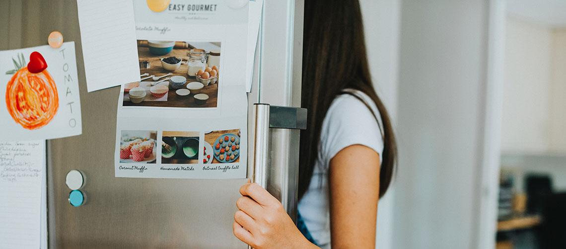 Personliggør dit køleskab med køleskabsmagneter